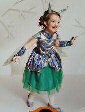 New Hyde and Eek Kids Child Girls Dragon Costume Dress Sz Medium (7-8) Halloween