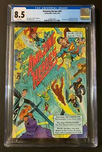 Amazing heroes # 75 CGC 8.5 1st Appearance Of Teenage Mutant Ninja Turtles In Ad