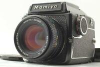 【MINT w/ Waist Level Finder】 Mamiya M645 + C 80mm F2.8 N + 120 back from JAPAN