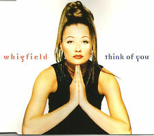 WHIGFIELD Think of you 5TRX w/ RARE MIXES & EDIT CD single SEALED USA seller