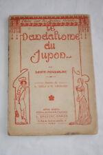 LE VANDALISME DU JUPON SAINTE MOUSSELINE MODE 1912 ILLUSTRE IBELS LEGRAND