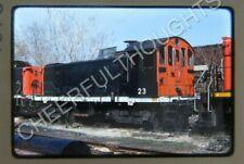 Original '80 Kodachrome Slide United Railway Supply 23 EX-CN London, ONT. 10J5