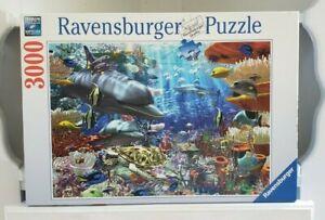 Oceanic Wonders Ravensburger Jigsaw Puzzle 3000 Piece 170272 Germany 2004