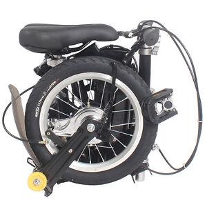 "New 14"" New Fashion Portable Single Speed Folding Bicycle Mini Foldable Bike"