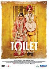 TOILET EK PREM KATHA DVD - AKSHAY KUMAR - BOLLYWOOD MOVIE DVD / ENGLISH SUBTITLE
