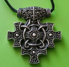 York hiddensee Estilo Mjölnir Thor's Hammer Peltre Colgante Collar