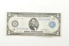 1914 $5.00 Federal Reserve Note - Large Note *0054
