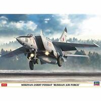 Hasegawa 1/72 MiG 25RBT Foxbat Russian Air Force Model Kit 02304 w/ Tracking NEW