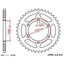 Couronne acier 53 dents derbi Jt sprockets JTR1133.53