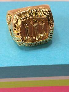 Houston Comets 1999 WNBA Championship Fan Ring. Size 5 Silver Women's Basketball