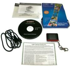 "COBY DP-151 Digital Photo Keychain 1.5"" Color LCD Screen 60 Photos USB Port -EL1"