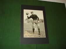 VINTAGE 1924 COLLEGE FOOTBALL PHOTO OF GEORGE PEASE, COULUMBIA UNIVERSITY QB