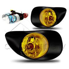 06-10 Yaris 3 Door Fog Lamp Set w/Wiring Kit & HID Conversion Kit - Yellow