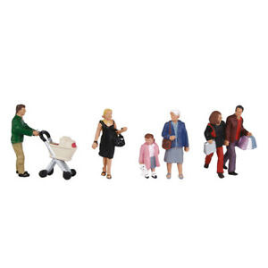 BACHMANN SCENECRAFT 36-046 SHOPPING FIGURES OO GAUGE 1:76 SCALE PACK OF 6