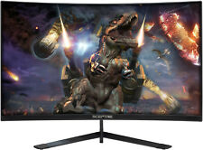 Sceptre C248B144RN 24 inch Widescreen Curved Gaming LED Monitor with Built in...