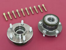 Front Wheel Non-ABS 5-Lug Conversion Hub W/ Extended Studs For 240SX 95-98 S14
