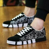 New Men 's Casual Canvas Shoes Sports Board Shoes Running Athletic Sneakers