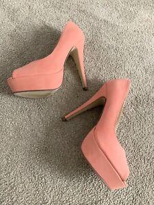 Dotti Size 38EU/7AU Womens Peeptoe High Heels