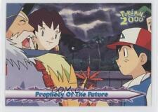 2000 Topps Pokemon Movie #23 Prophecy Of The Future Card g6w