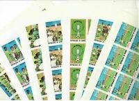 Guinea MNH New 1979 African Football 7v Imperforated Sheet s31647