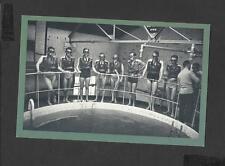 Nostalgia Postcard Sailors Testing David Life-Saving Apperaratus 1939