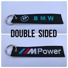 Car Embroidered Key Ring Keyring Keyfob Gifts Bmw M 2 3 4 5 6 Power X 1 3 4 5 6