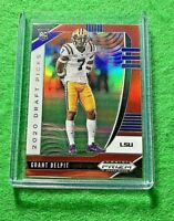 GRANT DELPIT PRIZM ROOKIE CARD JERSEY #7 LSU BROWNS RC 2020 PANINI PRIZM DP RC