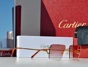 New Cartier Big C Rimless Piccadilly Occhiali Decor C Sunglasses Occhiali d Sole