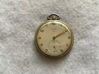 Elgin 15 Jewels and 4 Adjustments Vintage Mechanical Wind Up Pocket Watch
