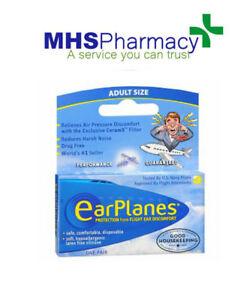 Flying EarPlanes - Ear Plugs - Protection From Flight Ear Pain