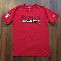 VTG 90s Champion T-Shirt Men's Medium Indiana Hoosiers Stitched Logo College OG