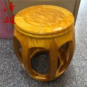 Leisure Round Stool Drum stool Foot-stoo Silkwood Gold thread Nan wood 金絲楠#1184