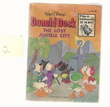 VINTAGE BIG LITTLE BOOK DONALD DUCK THE LOST JUNGLE 5773-2  1976  WHTMN VG