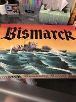 AH Avalon Hill 1962 - BISMARCK - Atlantic Naval Game - WWII Battleship Game
