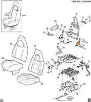 CHRYSLER SEAT BACK RECLINER 5080513AA