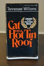 Cat on a Hot Tin Roof by Tennessee Williams 1955 Signet PB