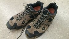 Merrell Boulder/Empire Yellow Leather Hiking Shoes Men's US 13 Lace Up