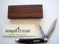 ORIGINAL SCHRADE NY USA 233B HIGH CARBON STEEL BLADED JACK KNIFE
