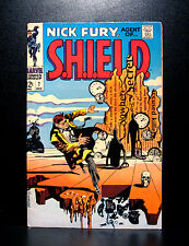 COMICS: Nick Fury, Agent of SHIELD #7 (1968), cover tribute to Salvador Dali