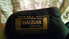 Vintage 1960-70's Haggar Duble Knit Mens Pants