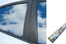 6x Premium a B C Montante Porta Listelli Auto Pellicola Wrap Set in Adesivo