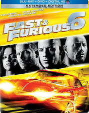 Fast  Furious 6 (Blu-ray/DVD, 2013, 2-Disc Set, NO DIGITAL CODE)