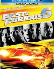 Fast & Furious 6 (Steelbook Blu-ray/DVD, 2013, 2-Disc Set, Includes Digital Copy