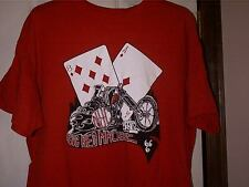 Hells Angels tee shirt Tshirt 2XL Support 81 Big Red Machine Support Crew NYC