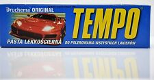 ORIGINAL TEMPO 120g DRUCHEMA Polishing  Wax PASTE POLISH ALL Type PAINT