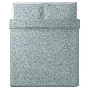 IKEA TRÄDKRASSULA Queen Duvet Cover and 2 Pillowcases
