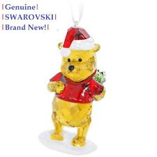 Swarovski Disney WINNIE THE POOH Christmas Tree Ornament 5030561 New in Gift Box
