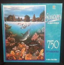 Jigsaw Puzzle 750 Pieces Seascapes Sea Garden at Point of Arches MB 18x24 Nelson
