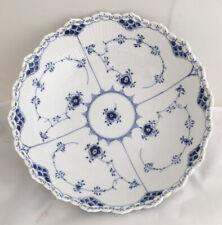 Royal Copenhagen Blue Fluted Full Lace 10� Large Round Serving Bowl #1019