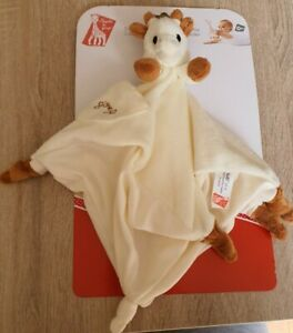 Sophie La Girafe Comforter With Soother Holder